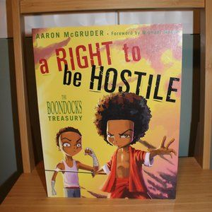 "The Boondocks ""A right to be hostile"" comics"